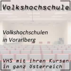 Volkshochschulen in Vorarlberg
