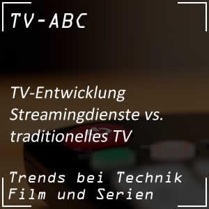 Streamingdienste vs. klassisches Fernsehen