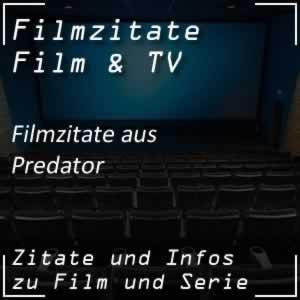 Filmzitate aus Predator
