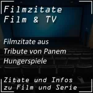 Filmzitate aus Die Tribute von Panem - Tödliche Spiele