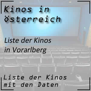 Kinos in Vorarlberg