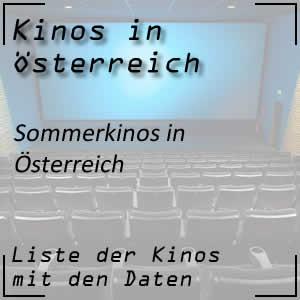 Sommerkinos in Österreich