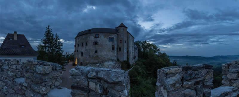 Burg Plankenstein bei Scheibbs in Niederösterreich