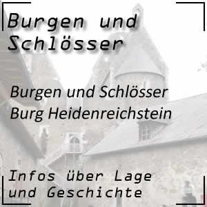 Burg Heidenreichstein im Waldviertel Niederösterreich