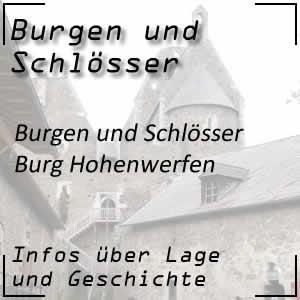 Burg Hohenwerfen über Werfen Salzburg