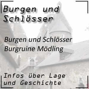 Burgruine Mödling in Niederösterreich