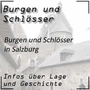 Burgen und Schlösser in Salzburg