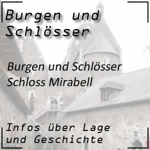 Schloss Mirabell in Salzburg mit dem Mirabellgarten