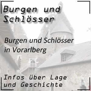 Burgen und Schlösser in Vorarlberg