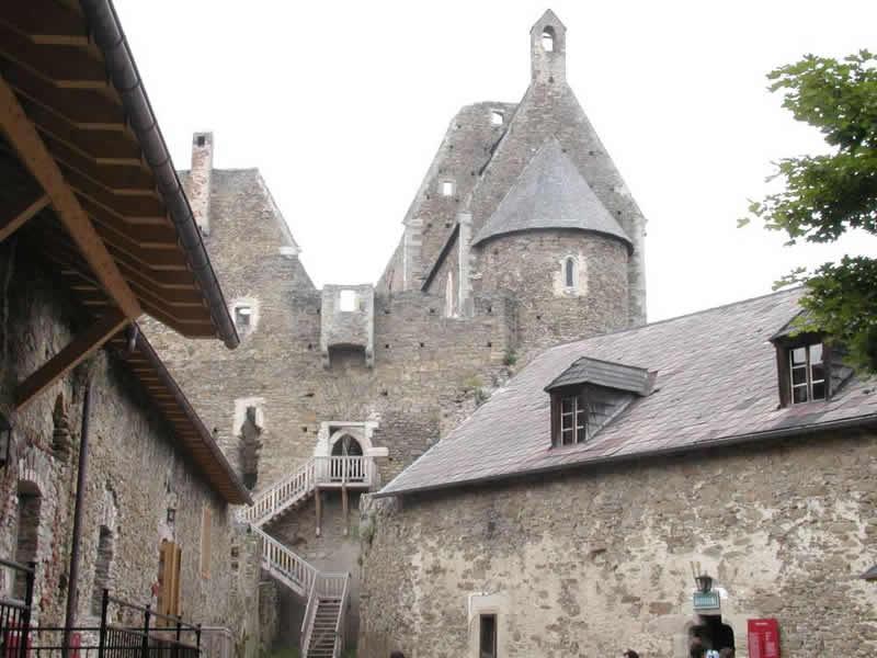 Burgruine Aggstein in Niederösterreich