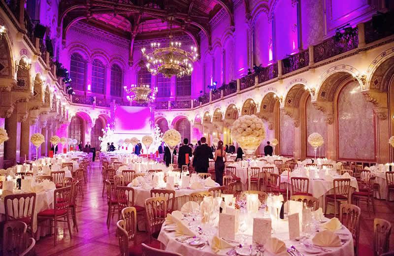 Palais Ferstel in Wien - großer Saal