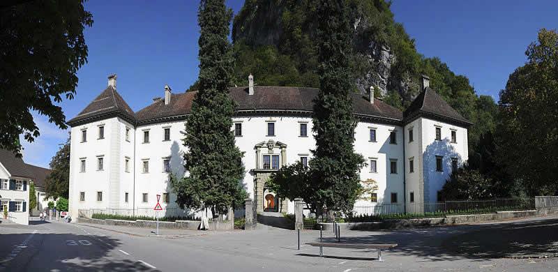 Palast Hohenems in Vorarlberg