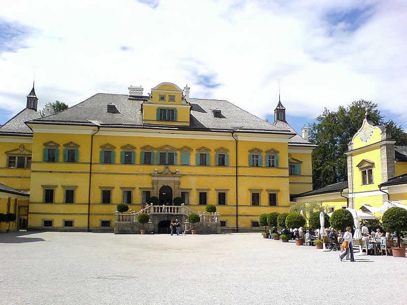 Schloss Hellbrunn in Salzburg