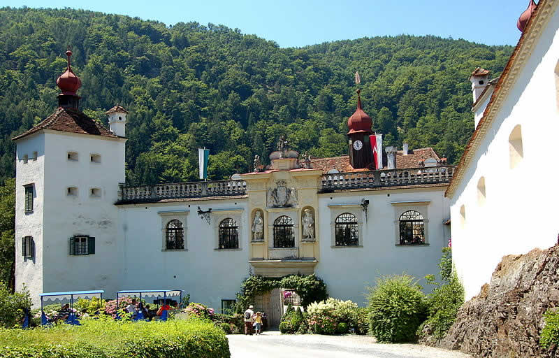 Schloss Herberstein mit Tiergarten in Stubenberg Steiermark