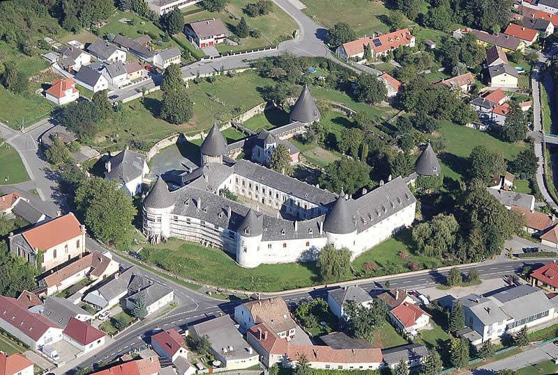 Schloss Kobersdorf im Burgenland