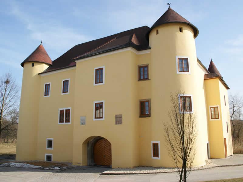 Schloss Sigharting im Innviertel Oberösterreich
