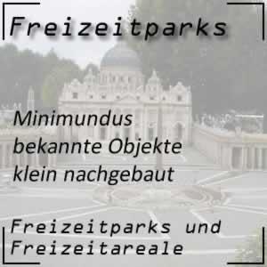 Freizeitpark Minimundus berühmte Bauwerke nachgebaut
