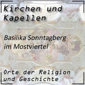 Kirchen Basilika Sonntagberg