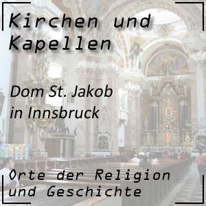 Kirchen Dom zu St. Jakob in Innsbruck