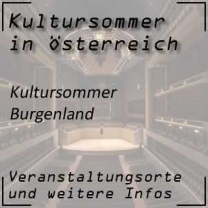 Kultursommer Burgenland
