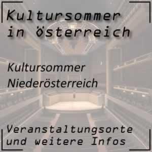 Kultursommer in Niederösterreich