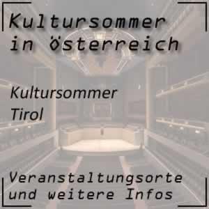 Kultursommer Tirol