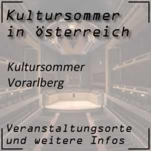 Kultursommer Vorarlberg