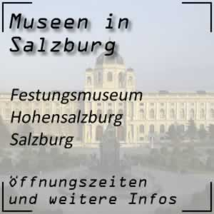 Salzburg: Festungsmuseum Hohensalzburg