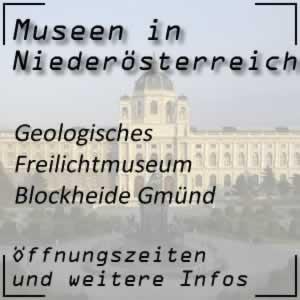 Geologisches Freilichtmuseum Blockheide Gmünd