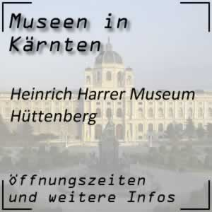 Hüttenberg: Harrer-Museum