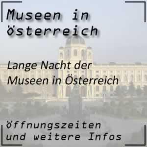 Lange Nacht der Museen in Österreich