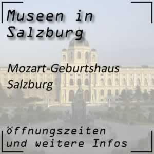 Salzburg: Mozarts Geburtshaus