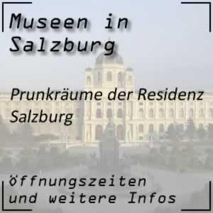 Salzburg: Prunkräume Residenz