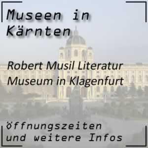 Robert Musil Literatur Museum in Klagenfurt