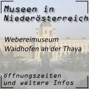 Waidhofen/Thaya: Webereimuseum