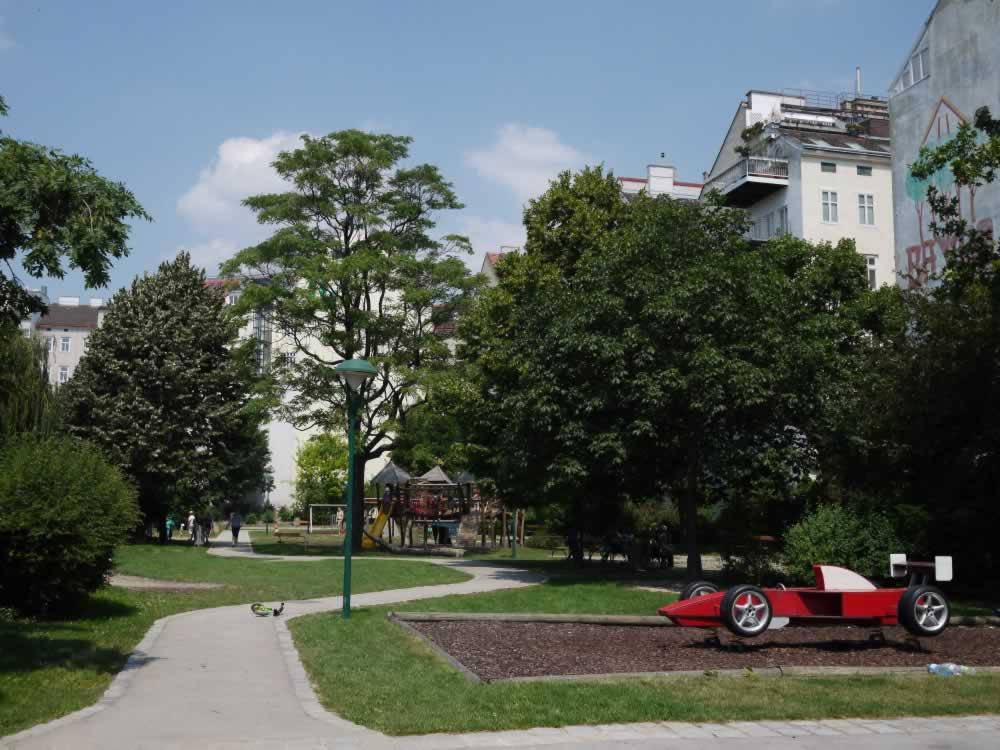 Alfred-Grünwald-Park in Wien 6