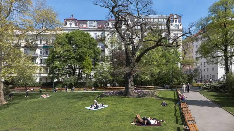 Alois-Drasche-Park in Wien 4