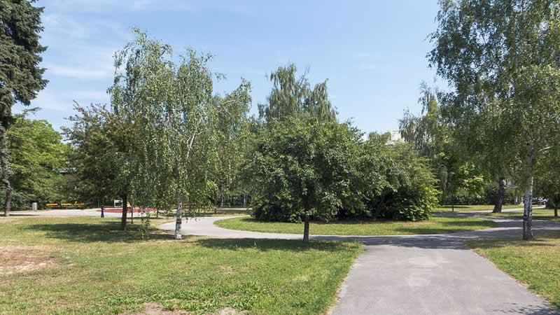 Andreas-Rett-Park in Wien 13