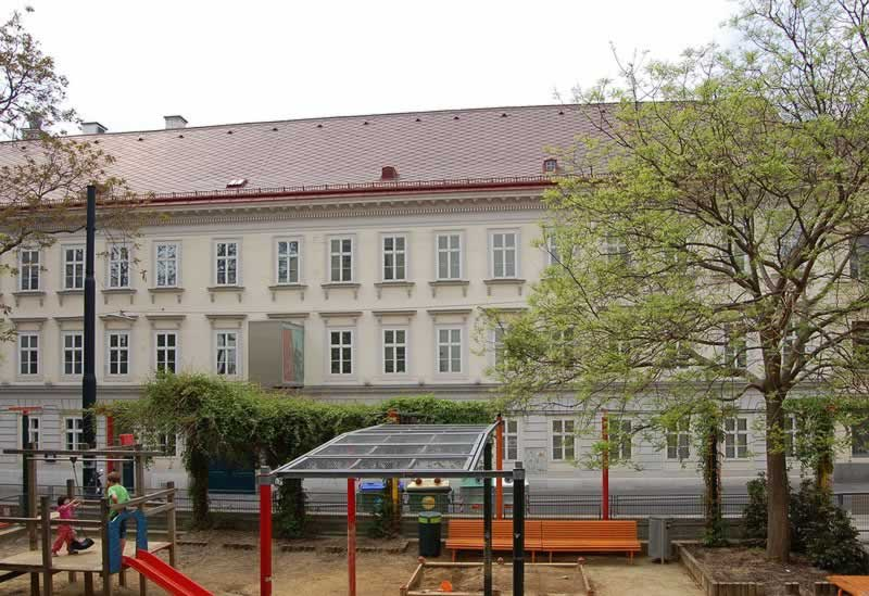 Andreaspark in Wien 7
