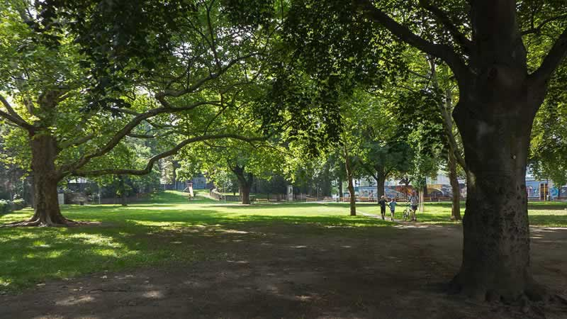 Arne-Carlsson-Park bei der Währinger Straße Wien 18