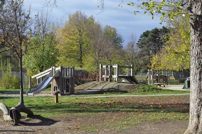 Auer-Welsbach-Park bei Schönbrunn in Wien