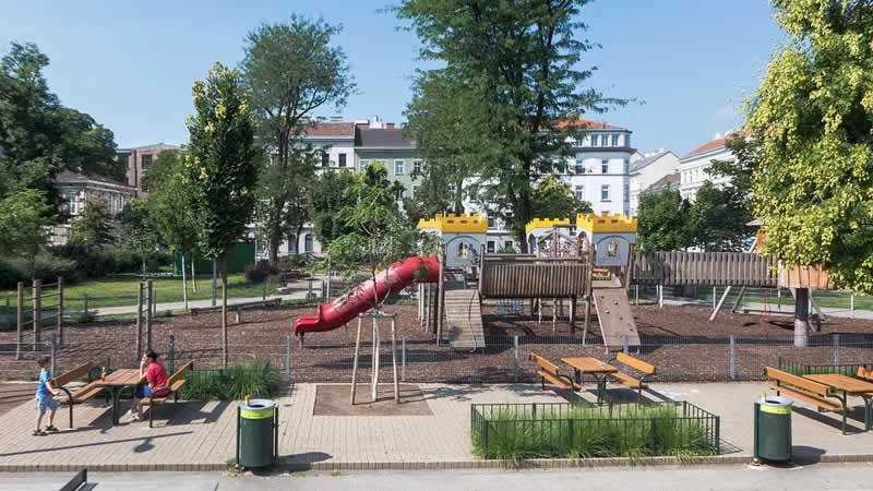 Bacherpark in Wien-Margareten