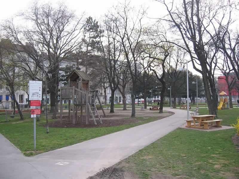 Bruno-Kreisky-Park in Wien-Margareten