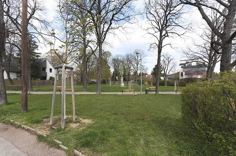 Engelbert-Schliemann-Park bei der Ketzergasse in Wien