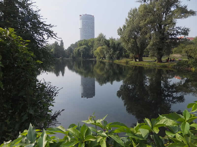 Floridsdorfer Wasserpark bei der Alten Donau