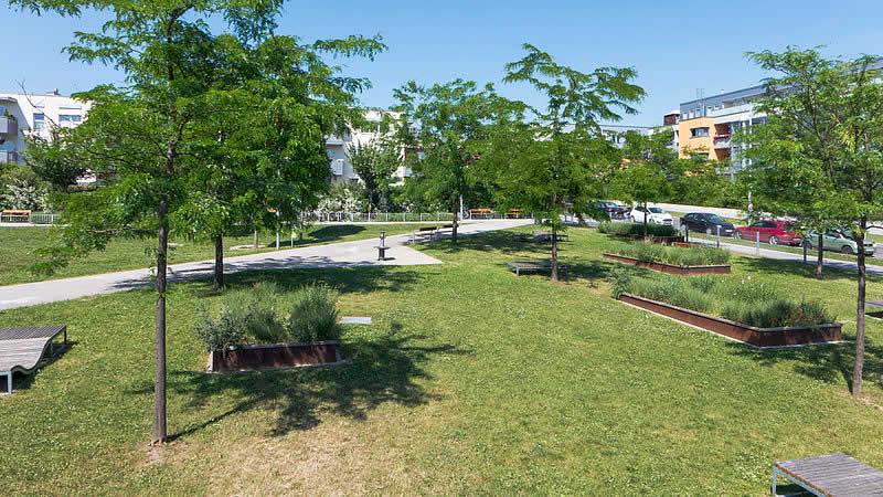 Grundäckerpark in Oberlaa Wien-Favoriten