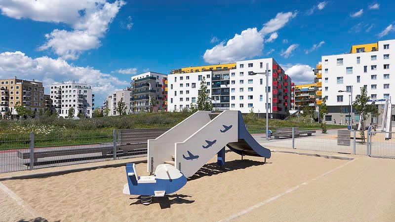 Hannah-Arendt-Park bei der Seestadt Aspern Wien