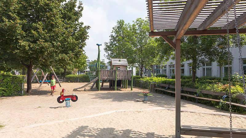 Jakob-Bindel-Park bei der Süßenbrunner Straße in Wien