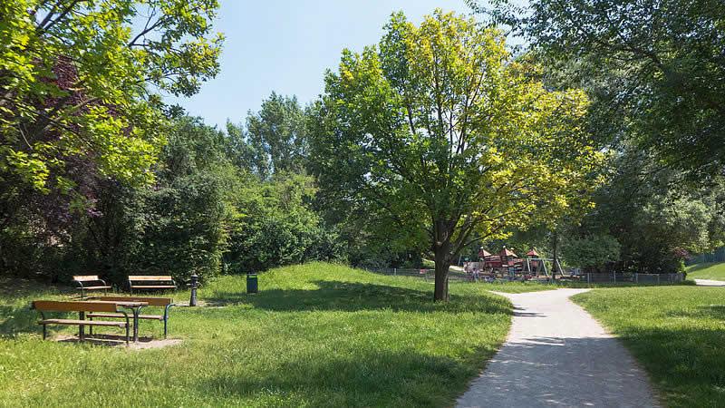 Johann-Benda-Park beim Wienerberg Wien 10