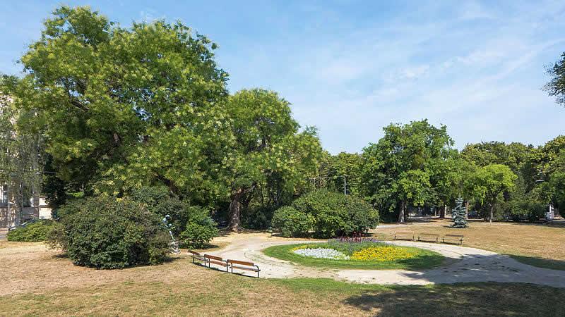 Joseph-Kainz-Park beim Türkenschanzpark Wien 18